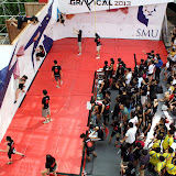 Aerial view of the Female Novice Category