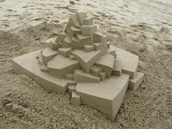 Castelos de areia geometricos (4)
