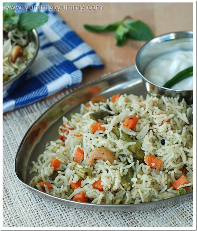 Easy Vegetable Biriyani