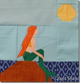 Paper Pieced Little Mermaid
