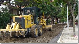 Se realizan trabajos de rebacheo en localidades de la zona centro del Partido de La Costa