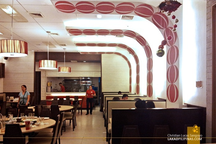 Modern Interiors of President Tea House SM North Edsa