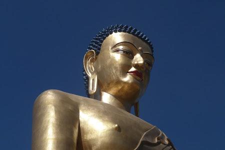 statuie Buda Bhutan