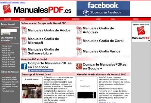 Manuales gratis de informática en PDF