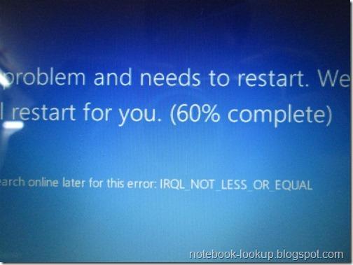 ปัญหา Acer Aspire V5-431P ลง Windows 8 ไม่ผ่านและการ์ดจอมีปัญหา