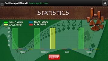 Screenshot of Estimation Score Sheet
