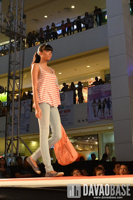 Casual wear on a female model during the Style Origin Fashion Show at Abreeza