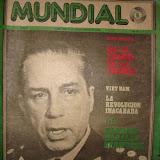 revista MUNDIAL1975 Peruana cedida por el Museo Reginal de Ica. Piedras de Ica. Basilio Uchuya, etc