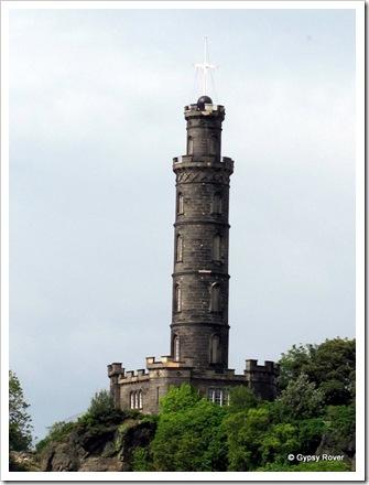 Timeball tower Edinburgh.