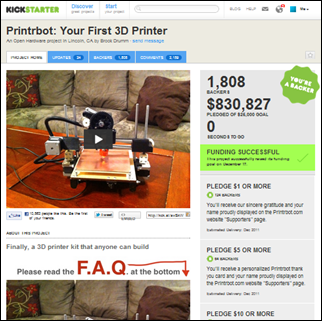Printrbot  Your First 3D Printer by Brook Drumm — Kickstarter
