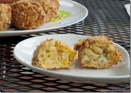 Mac and cheese balls7