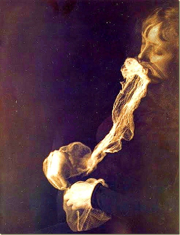 """The Medium Stanislawa P. The emission and resorption of an ectoplasmic substance through the mouth."" By A. von Schrenck-Notzing."