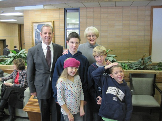 MTC with Gladwell grandchildren