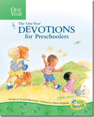 One Year Devotions for Preschoolers