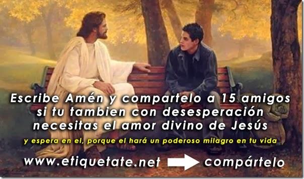 Mensaje Divino de Jesus para compartir en Facebook
