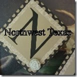 Northwest Texas button