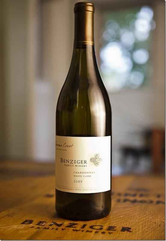 2009 Benziger Family Winery Sonoma Coast Wente Clone Chardonnay-2