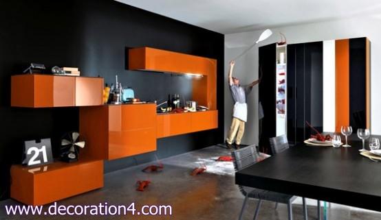Italian Kitchen Layout Ideas-Modern design-2013