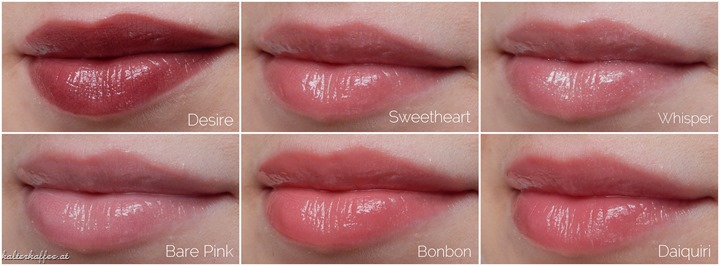 Laura Mercier Lip Glacé Shades
