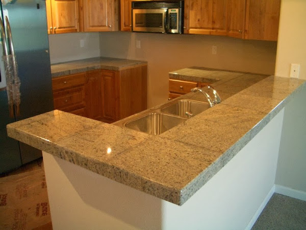Cimg0010 Granite Tile Countertop