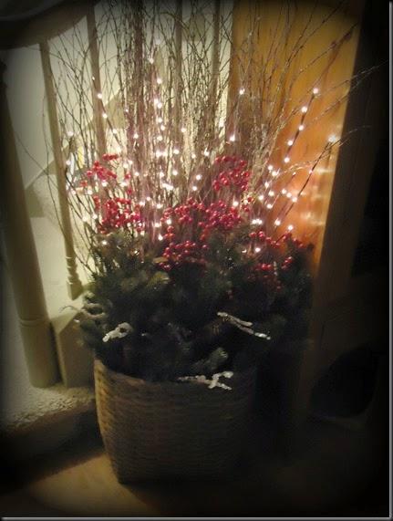 Basket wth lights