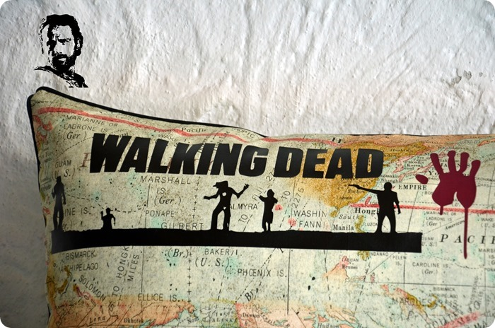 TWD (03) The Walking Dead Kissen #twd
