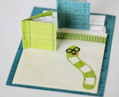Book Worm Party Invitation DIY[6]