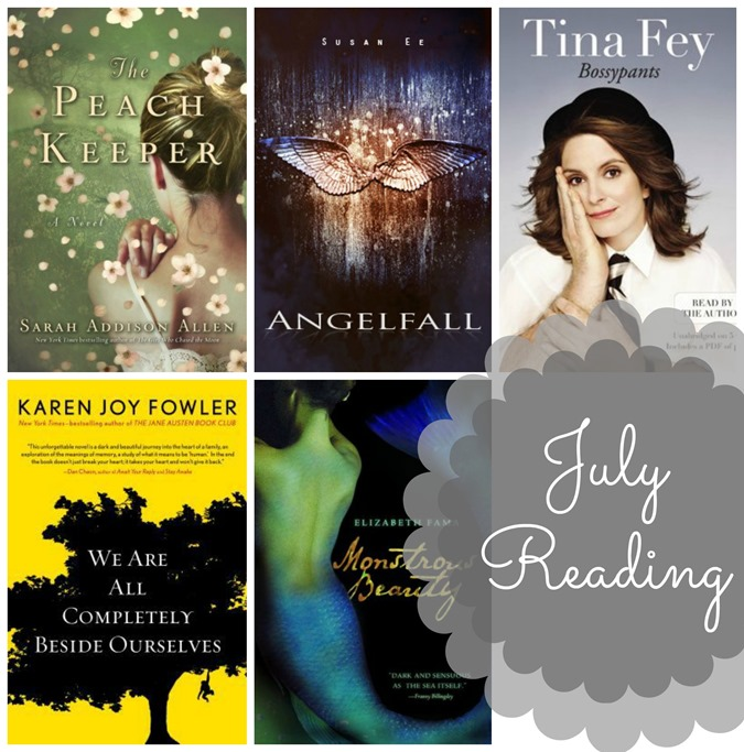 July Reading Recap and Book Reviews // www.maybematilda.com