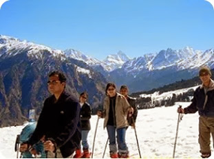 honeymoon in Auli