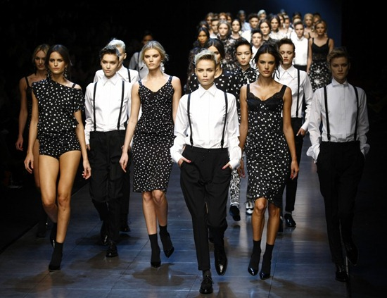 milan fashion week dolce gabbana