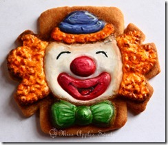 clown cookie