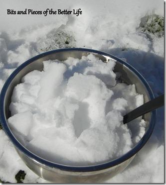 Snowcream snow