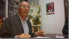 Antón Saracíbar interviniendo en el Foro JGC