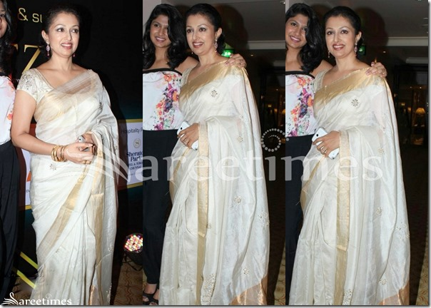 Gowthami_White_Silk_Saree