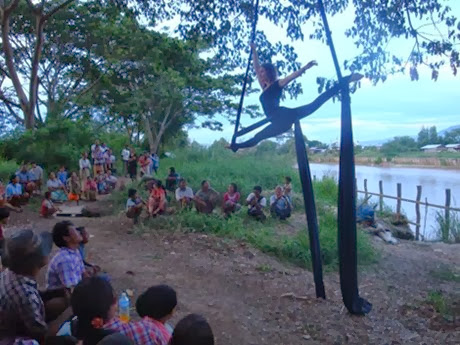 Burma- site specific shows