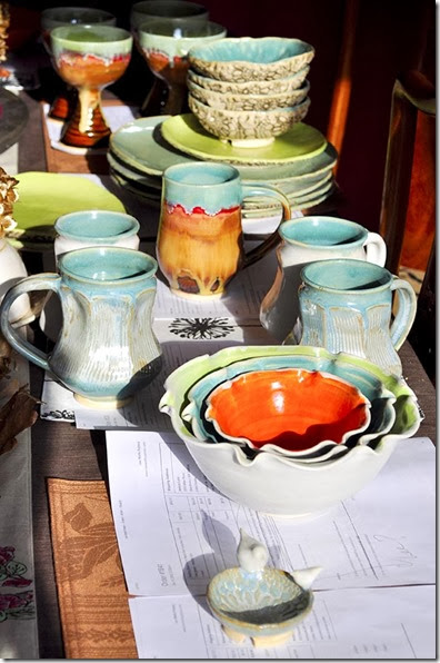 orders ready to ship from Lee Wolfe Pottery