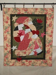 Santa wall hanging