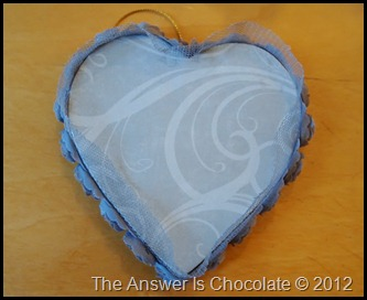 Paper Covered Heart