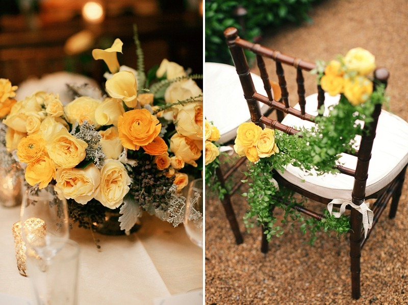 15 Oak and the Owl _ Yellow Wedding Flowers