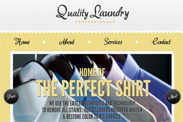 21 ejemplos de sitios web usando el color amarillo