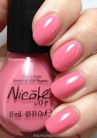Nicole by OPI Don't Over Pink It