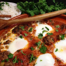 Meatball Tagine with Tomato and Eggs