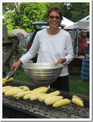 corn roast, joan