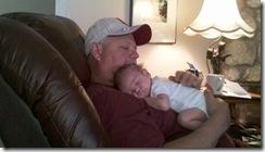 Grandpa Randy and John Brooks