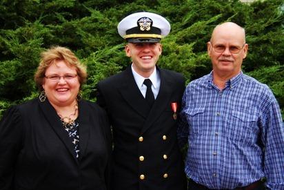 Mark Navy OCS Grad 19