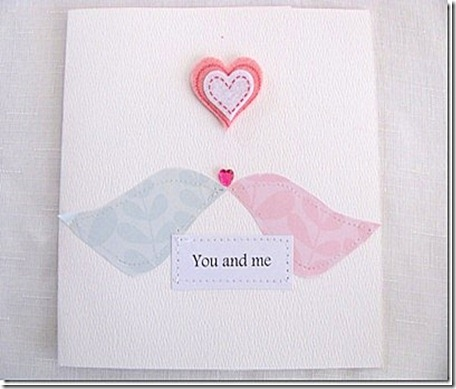 Hubby's card