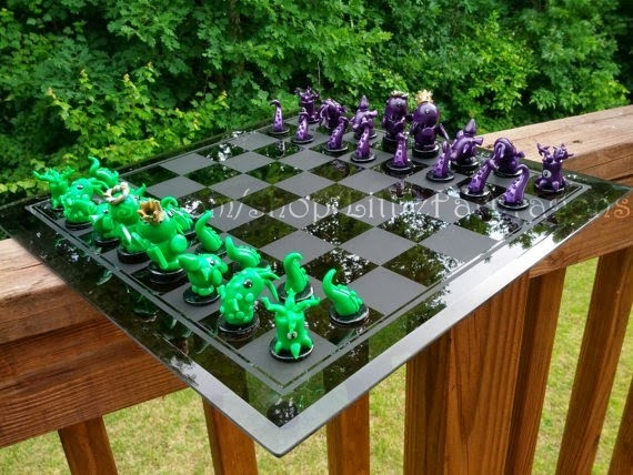 Little Fat Cthulhu Custom Chess Set from Little Fat Dragons
