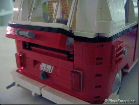 Öppningsbar baklucka Lego 10220 Volkswagen T1 Camper Van Bilder
