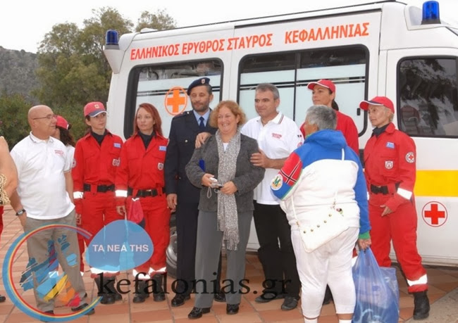 Στο Νοσοκομείο Κεφαλονιάς το ασθενοφόρο που δώρισαν οι Ιταλοί