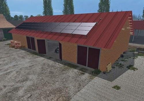 Farming simulator 2015 - Garage v 1.0 (mattoni)
